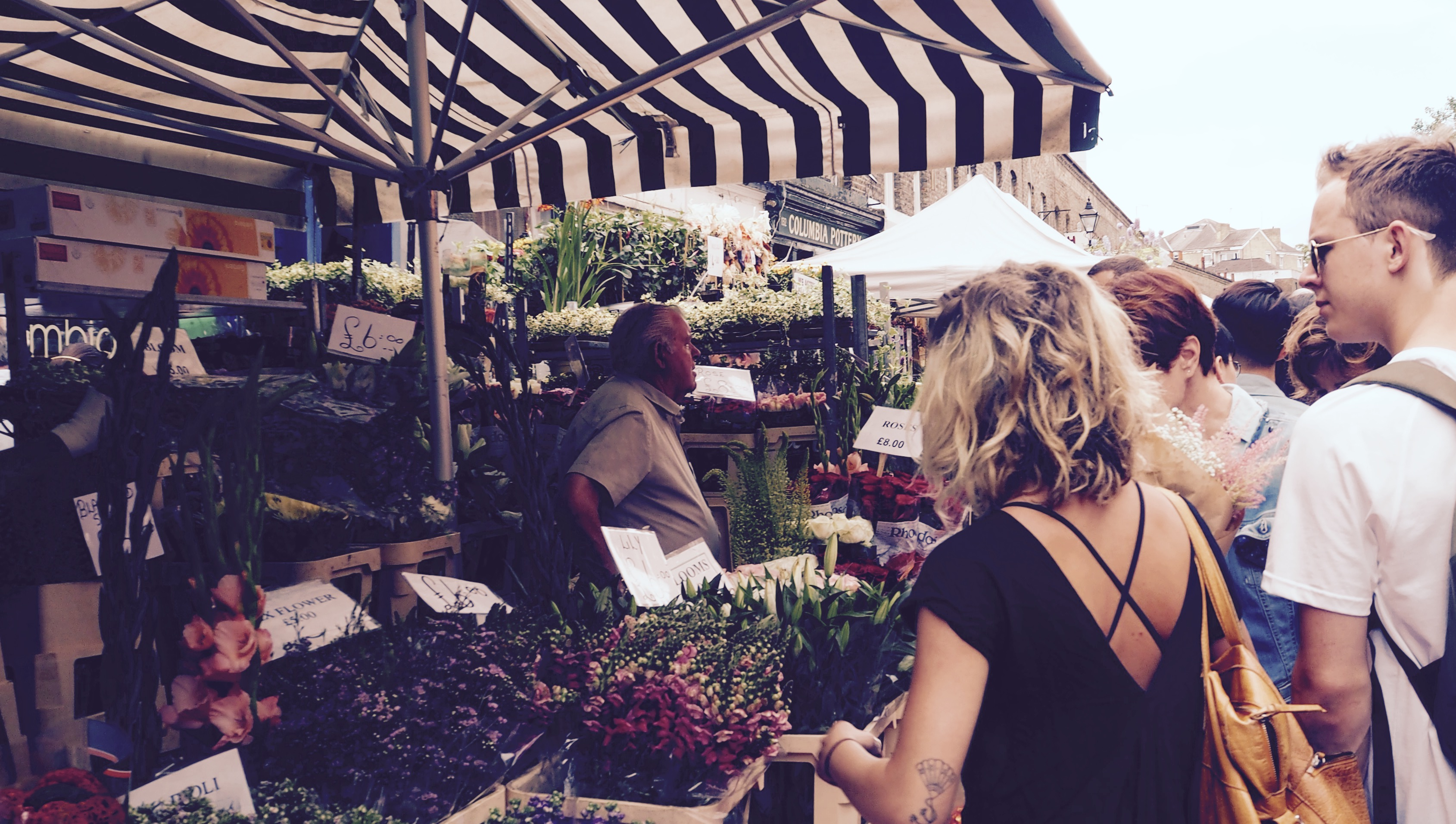 Tiny Trail: Columbia Road Flower Market and Victoria Park