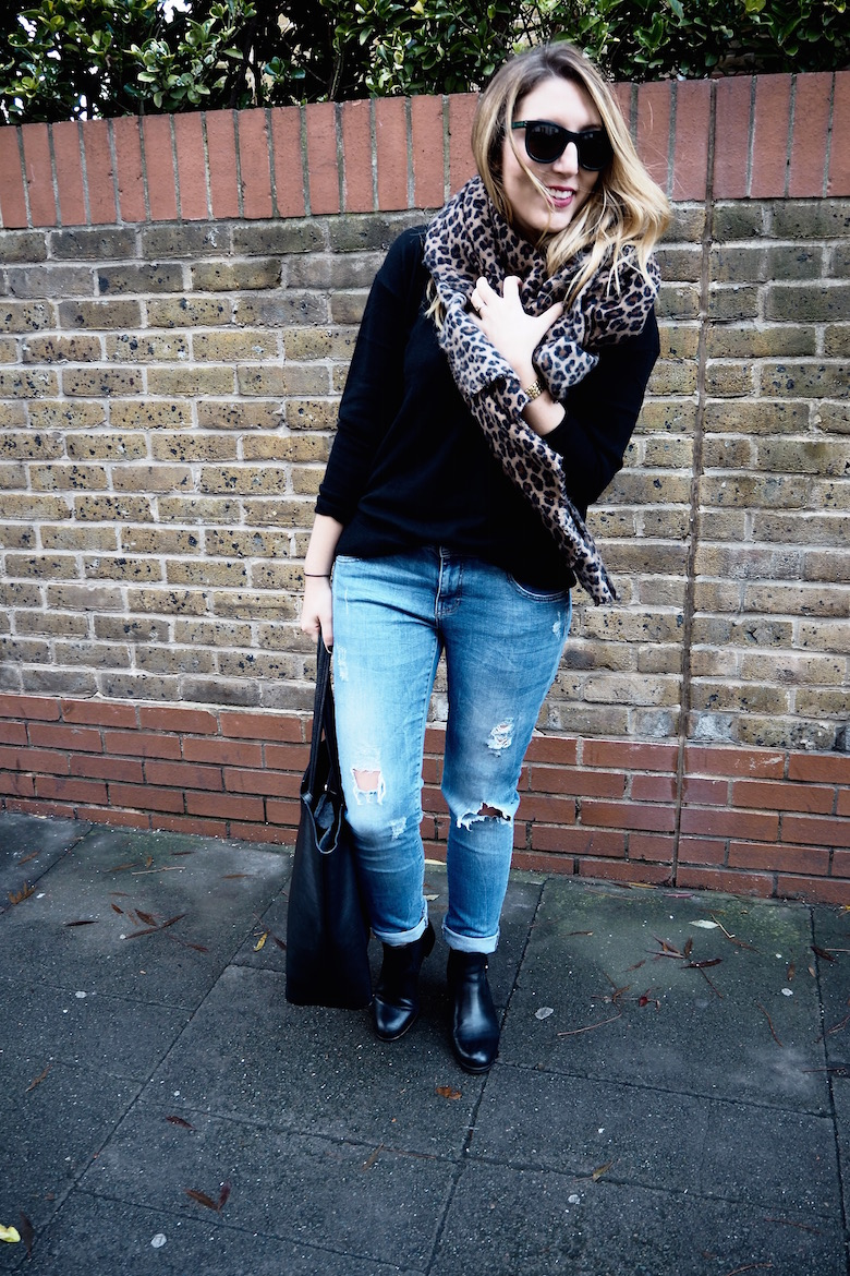 My Favourite Leopard Scarf | Wolf & Stag
