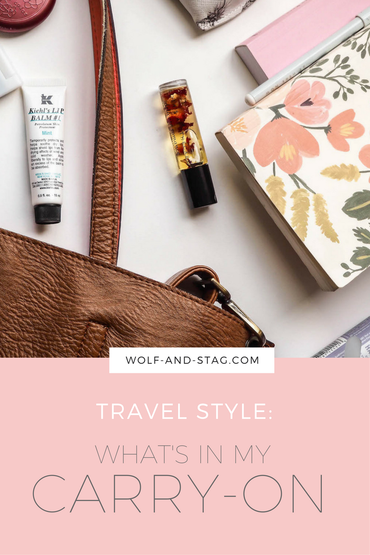 What's in my Carry On | Wolf & Stag