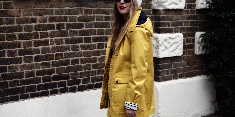 Spring Showers // Yellow Raincoat