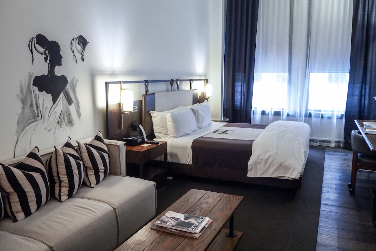 The Refinery Hotel - Bedroom | Wolf & Stag