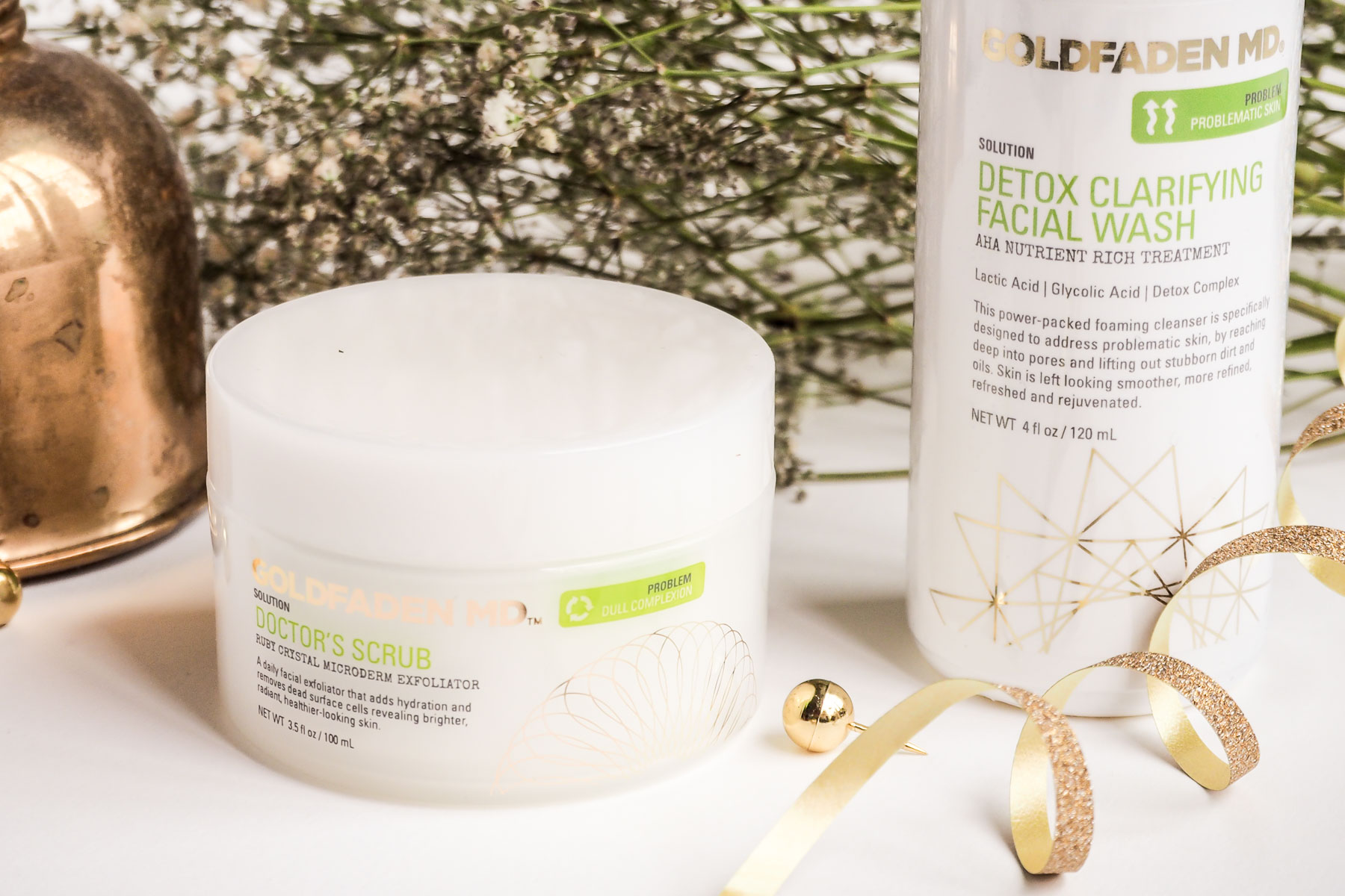 Beauty Review: Goldfaden MD Doctor's Scrub and Detox Clarifying Facial Wash