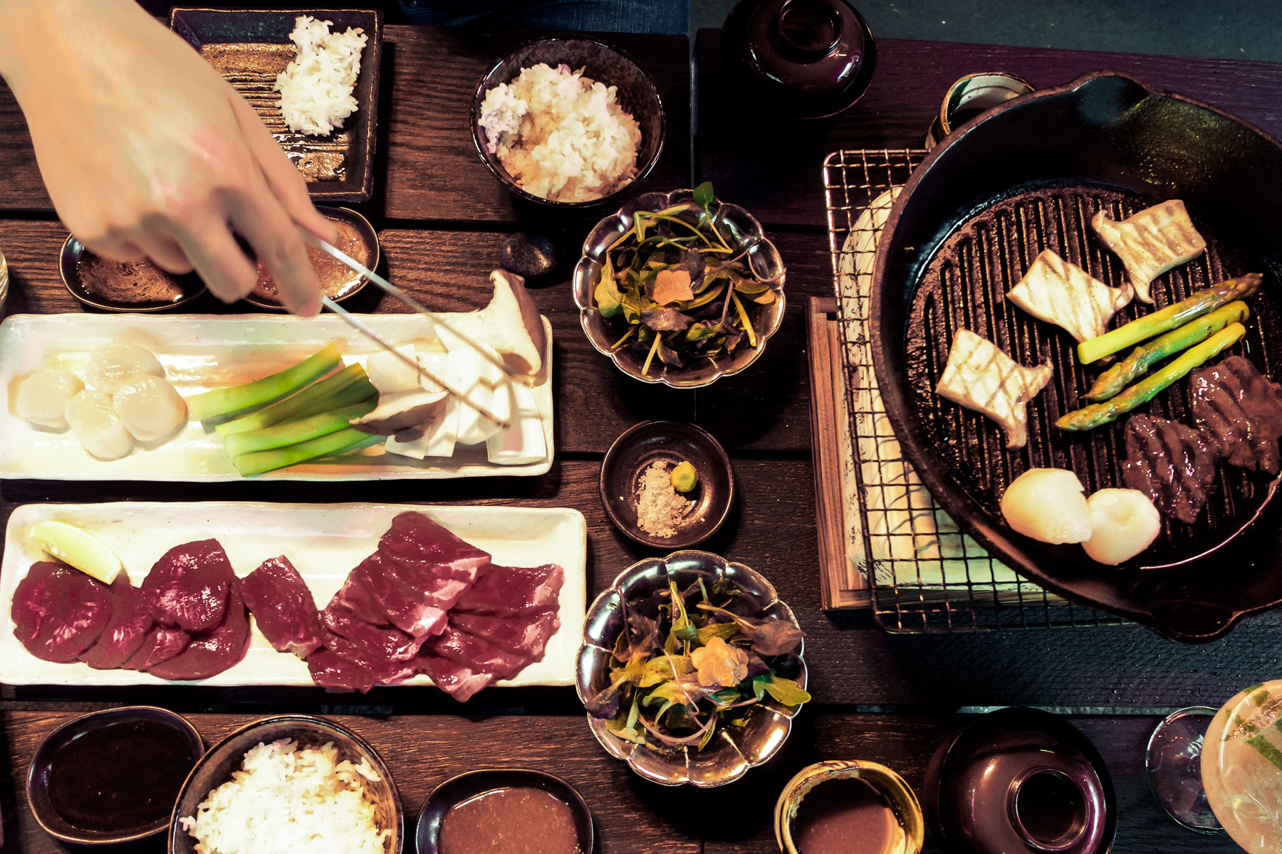 Japanese Barbecue at Sakagura, Mayfair