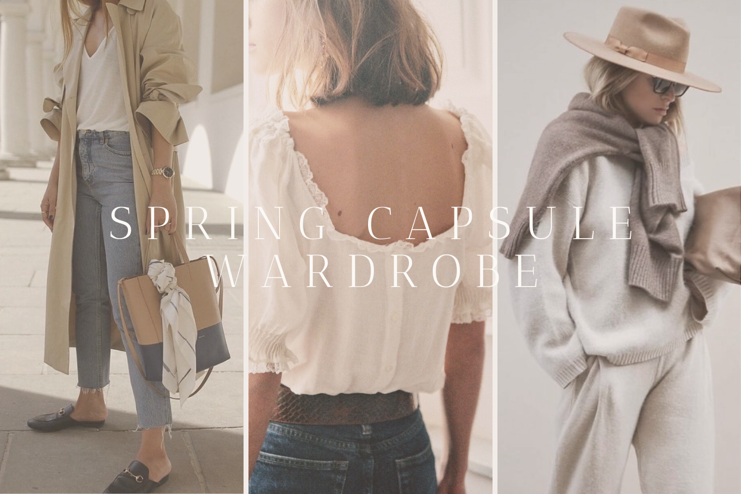 The (Mostly) Sustainable Spring Capsule Wardrobe