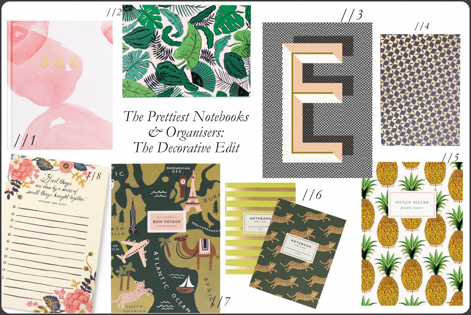 Friday Finds: The Pretty Notebook & Organiser Edit