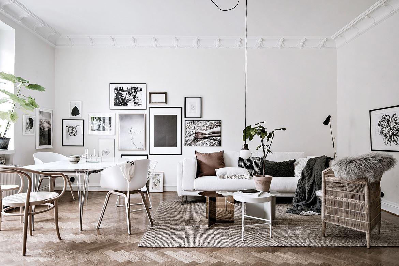 Interiors Inspiration: Scandehemian Style